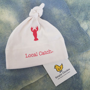 "Organic Cotton Baby Hat ""Local Catch"" from Simply Chickie"