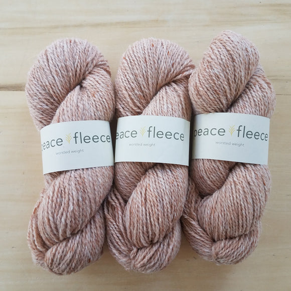 Peace Fleece Worsted: Palomino - Maine Yarn & Fiber Supply