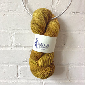maine-yarn-fiber-supply - Pemaquid: Warm Ochre - Yarn