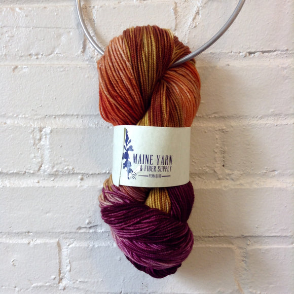 maine-yarn-fiber-supply - Pemaquid: Tapped Maple - Yarn