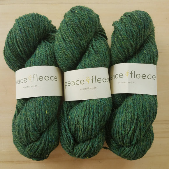 Peace Fleece Worsted: Poashja Hemlock - Maine Yarn & Fiber Supply