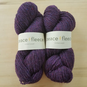 Peace Fleece Worsted: Porterfield Plum