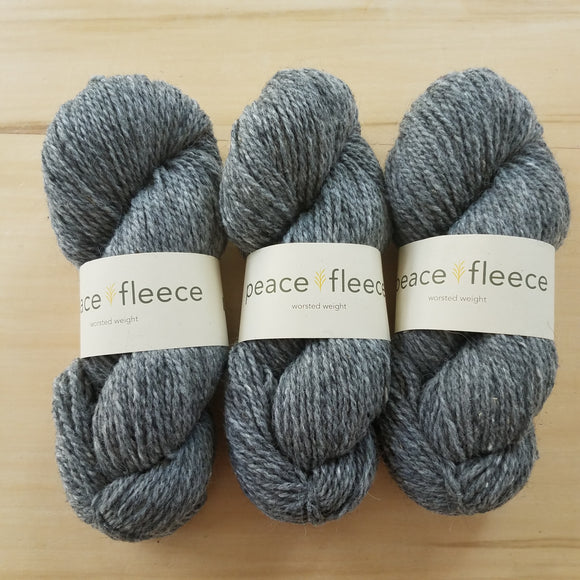 Peace Fleece Worsted: Rabbit Grey