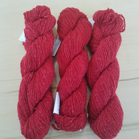 Cotton Comfort by Green Mountain Spinnery: Red - Maine Yarn & Fiber Supply