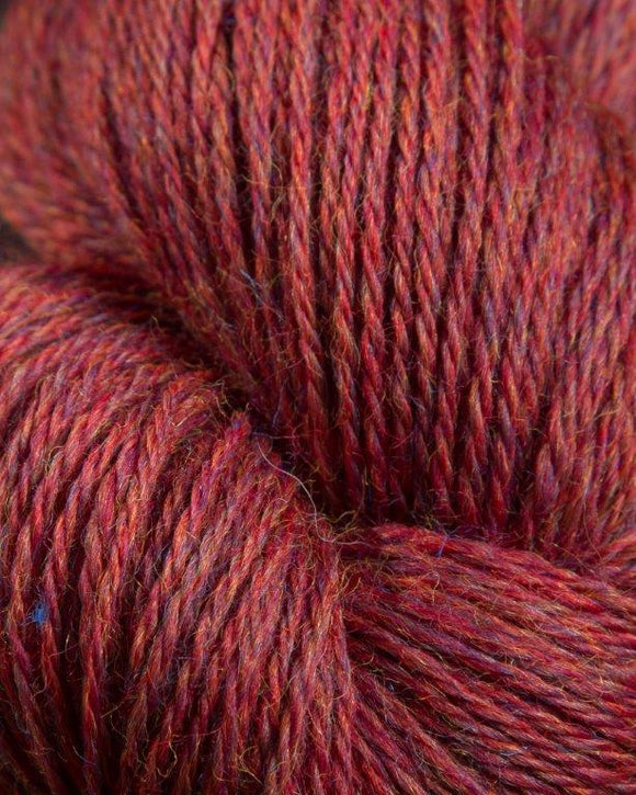 The Heather Line from JaggerSpun: Russet