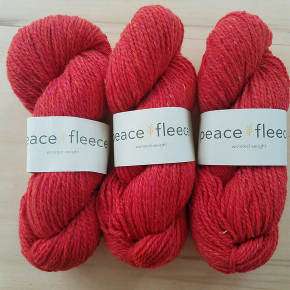 Peace Fleece Worsted: Sakhalin Salmon