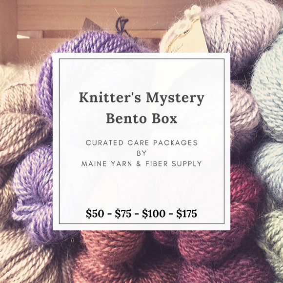 Knitter's Mystery Bento Box - Maine Yarn & Fiber Supply