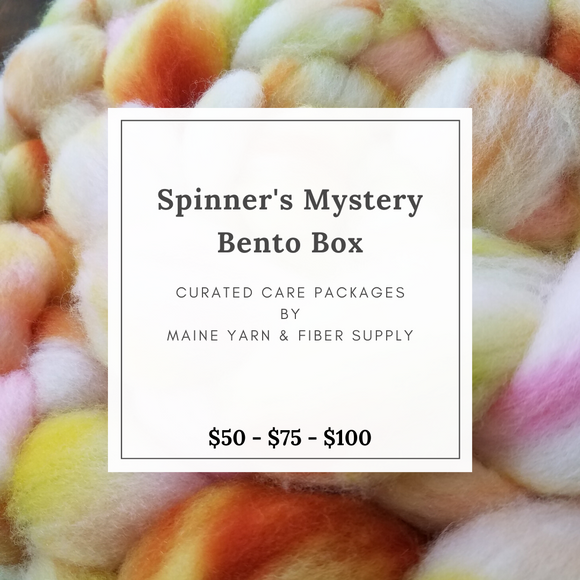 Spinner's Mystery Bento Box - Maine Yarn & Fiber Supply