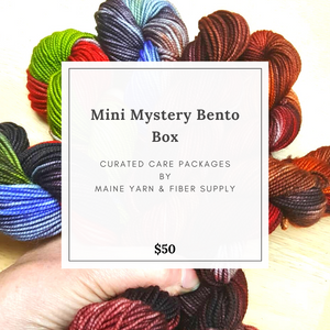 Mini Mystery Bento Box - Maine Yarn & Fiber Supply