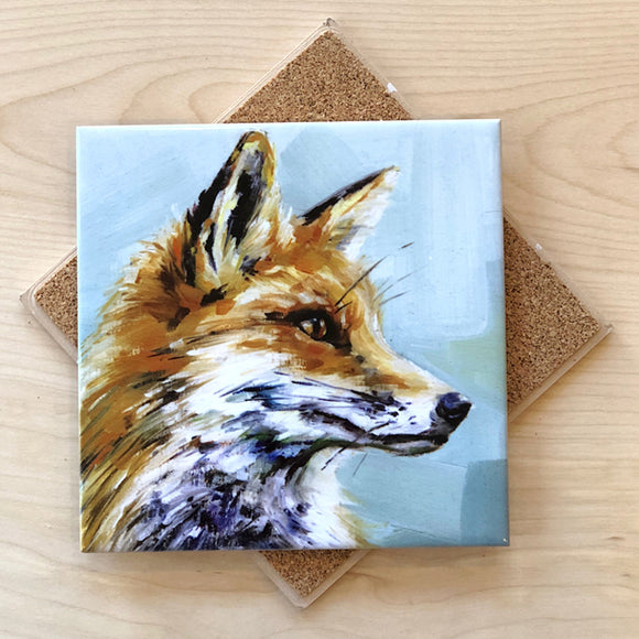Fox Trivet by Art by Alyssa