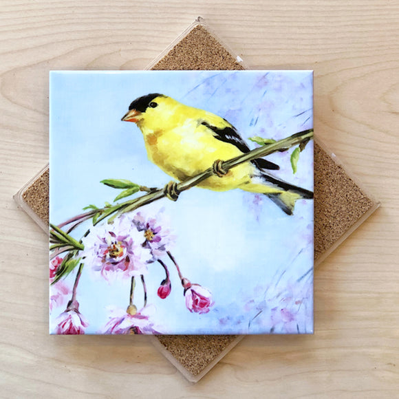 Goldfinch Trivet by Art by Alyssa