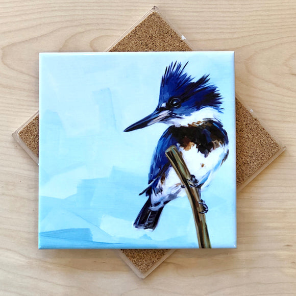 Kingfisher Trivet by Art by Alyssa