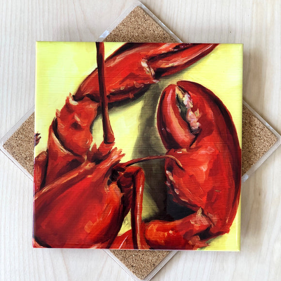 Lobster Trivet by Art by Alyssa