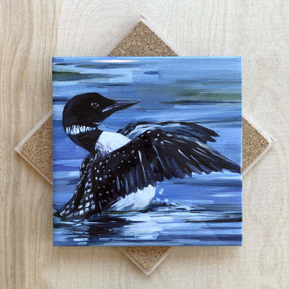 Loon Stretch Trivet by Art by Alyssa
