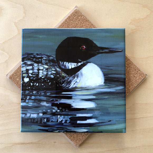 Loon Trivet by Art by Alyssa