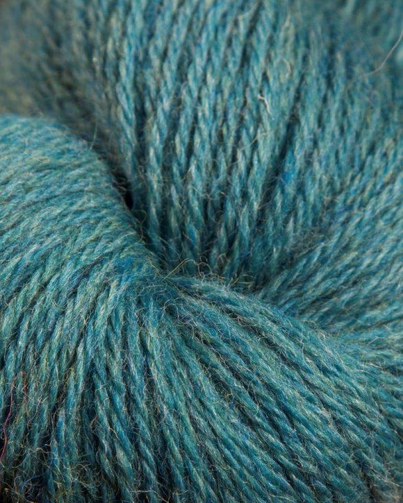 The Heather Line from JaggerSpun: Teal