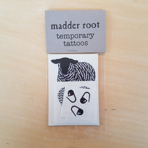 Temp Tattoos 10 pack by Madder Root