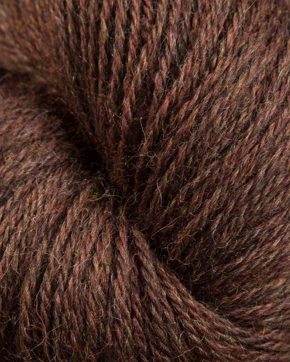 Heather Line from JaggerSpun: Walnut