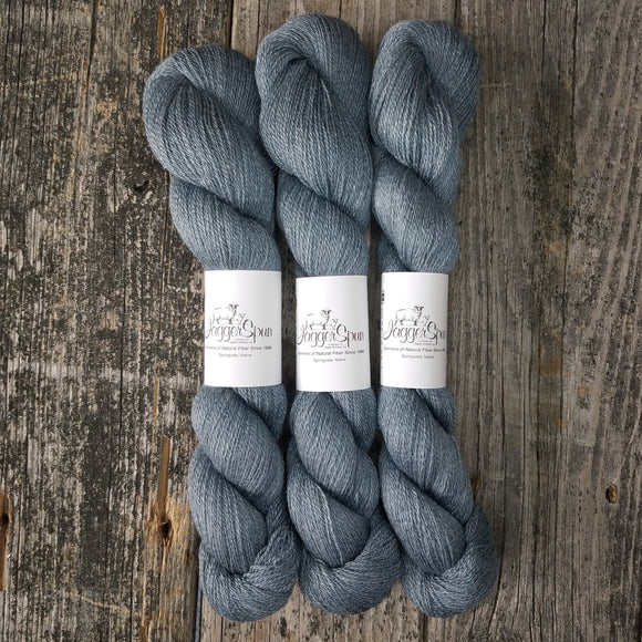 Zephyr Lace From JaggerSpun: Charcoal