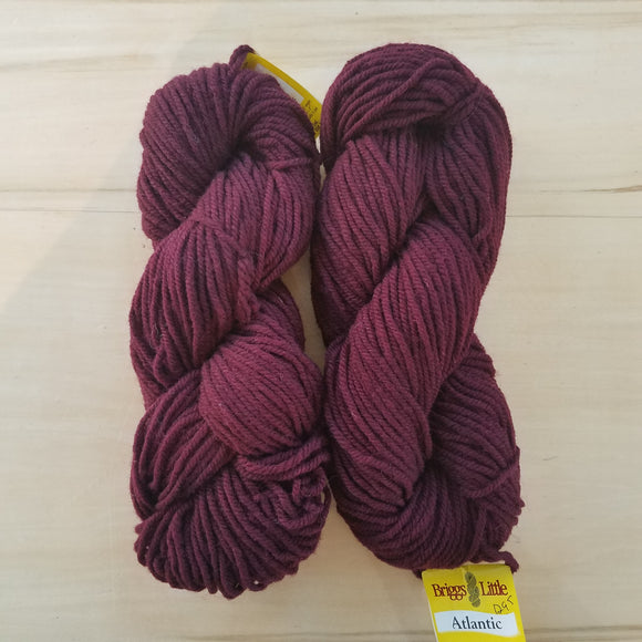 Briggs & Little Atlantic: Dark Maroon - Maine Yarn & Fiber Supply