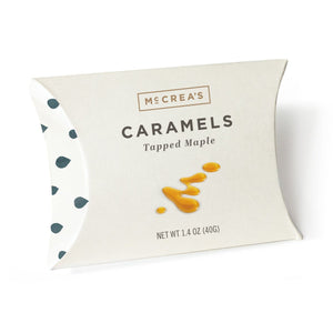 Tapped Maple Pillow Pack By McCrea's Fine Caramels