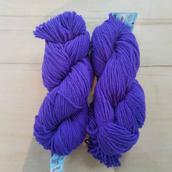 Briggs & Little Heritage: Violet - Maine Yarn & Fiber Supply