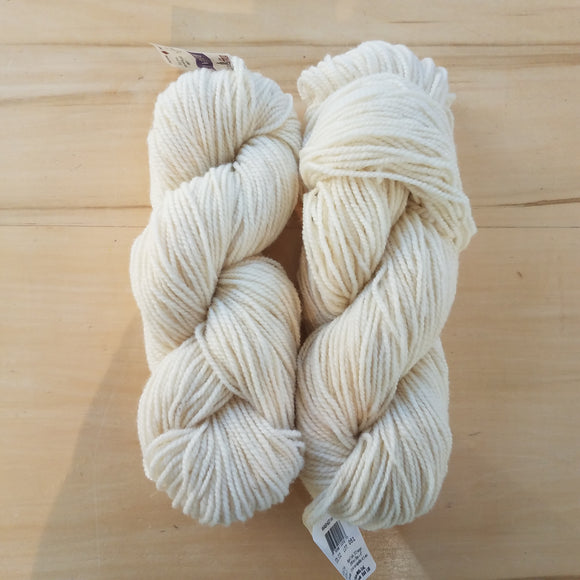 Briggs & Little Regal: Washed White - Maine Yarn & Fiber Supply