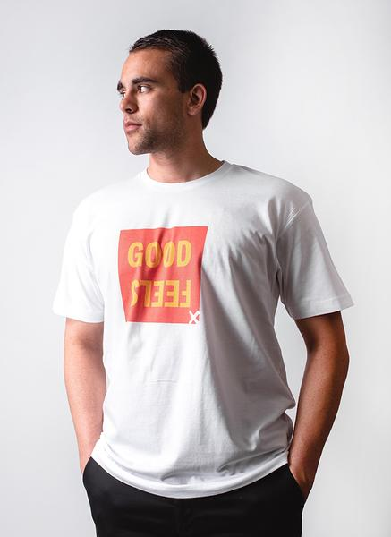Good Feels Tee - White - Lucky Lager