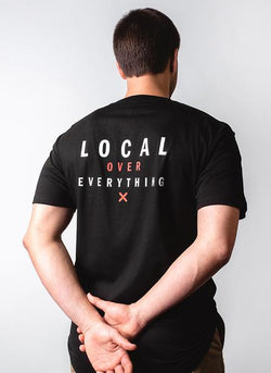 Locals Tee - Black - Lucky Lager