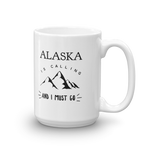 15 oz Coffee Mug - Alaska is Calling