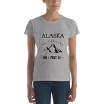 Women's Short Sleeve T-Shirt - Alaska is Calling