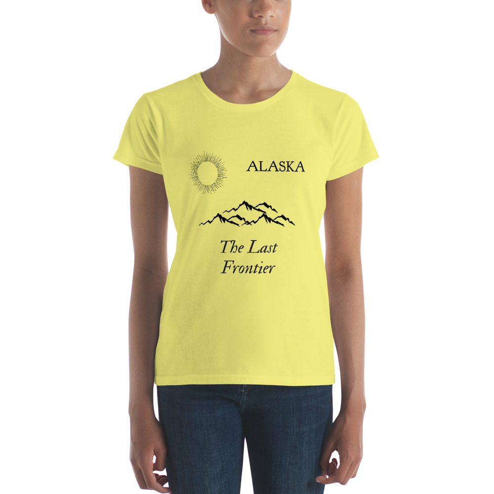 Women's Short Sleeve T-Shirt - The Last Frontier