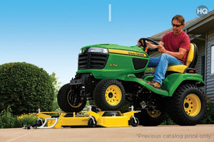 X758 Commercial Ride-On Mower