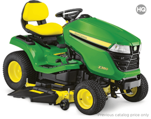 X380 Residential Ride-On Mowers