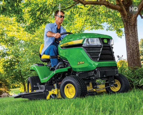X384 Residential Ride-On Mowers