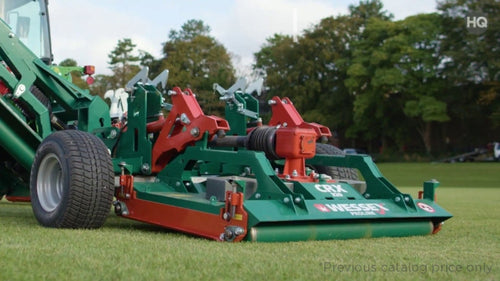 Wessex CRX-240 Sports, Golf and Turf Mower