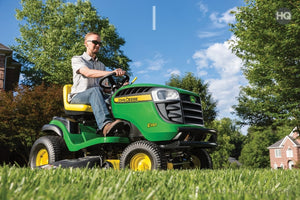 E130 Residential Ride-On Mower