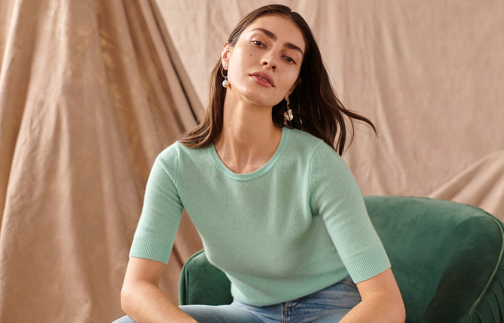 Essential Cashmere Tees Image
