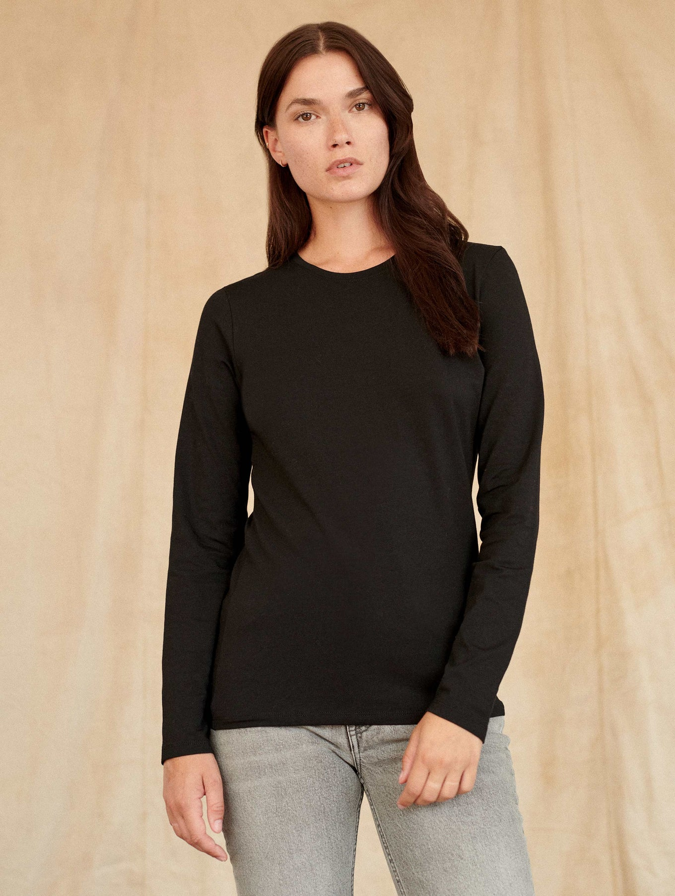 Modal Cotton Crewneck