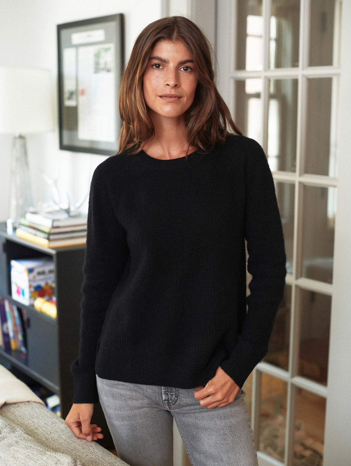 Cashmere Thermal Sweatshirt