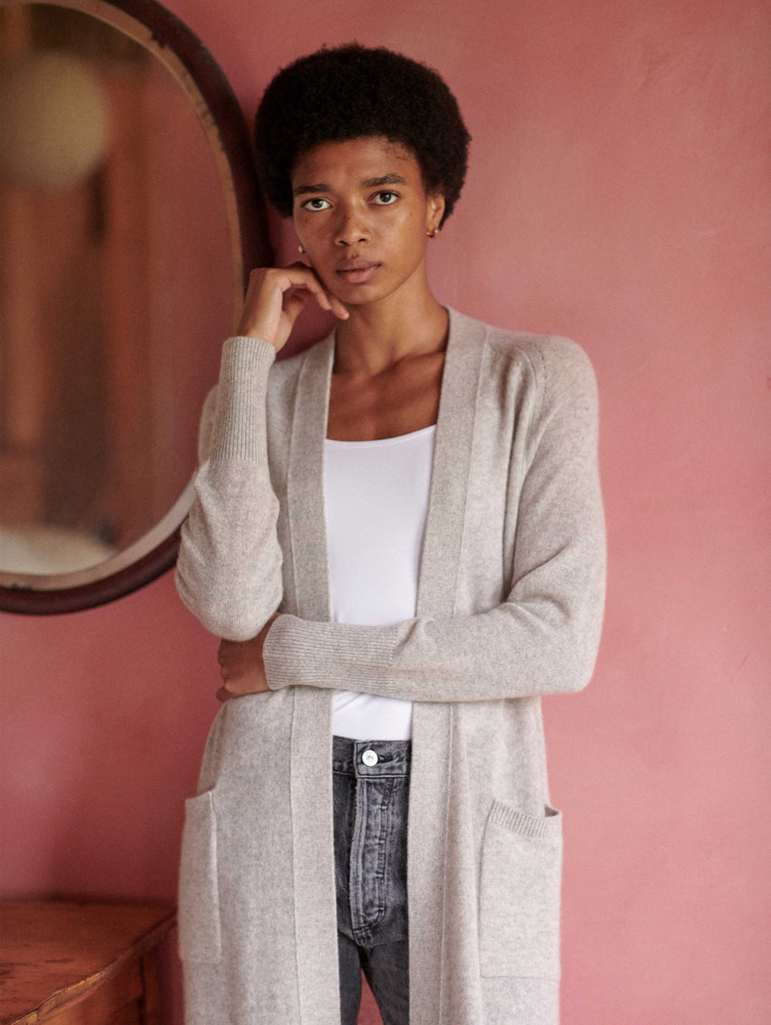 Cashmere Luxe Long Cardigan