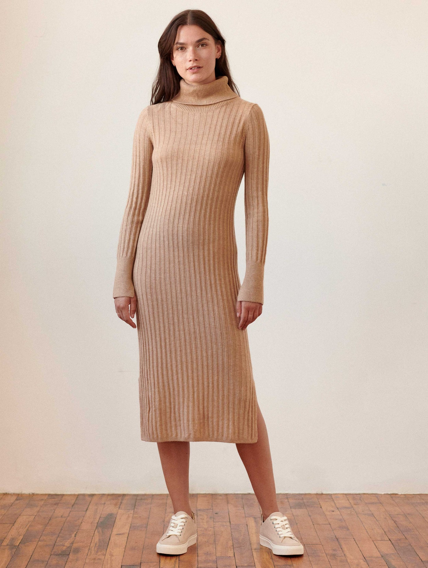 Merino Blend Midi Dress