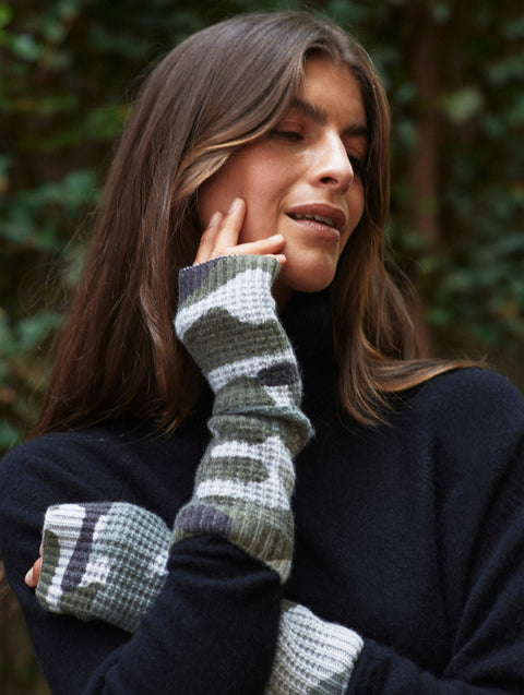 Cashmere Camo Thermal Arm Warmer