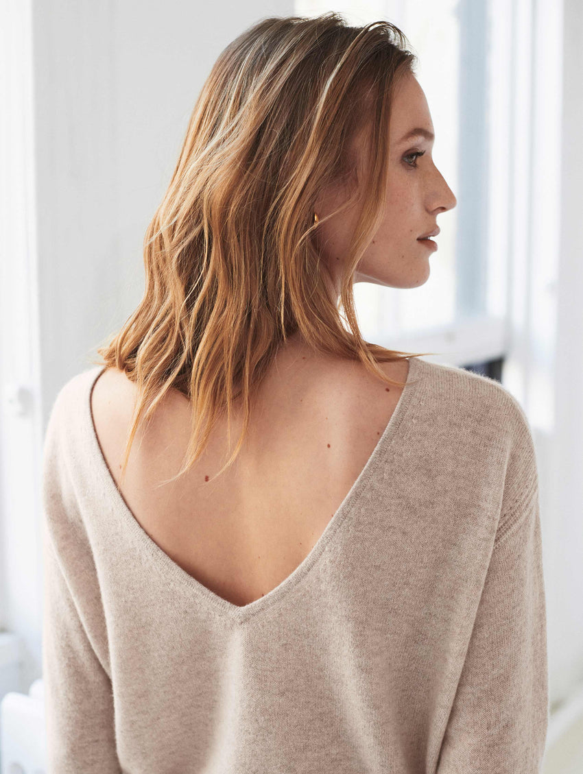 Cashmere Two Way Sweater