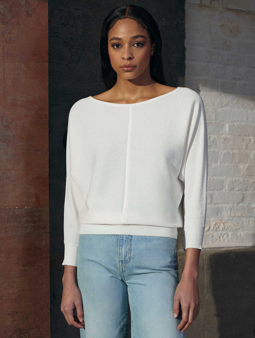 Cotton Off The Shoulder Top