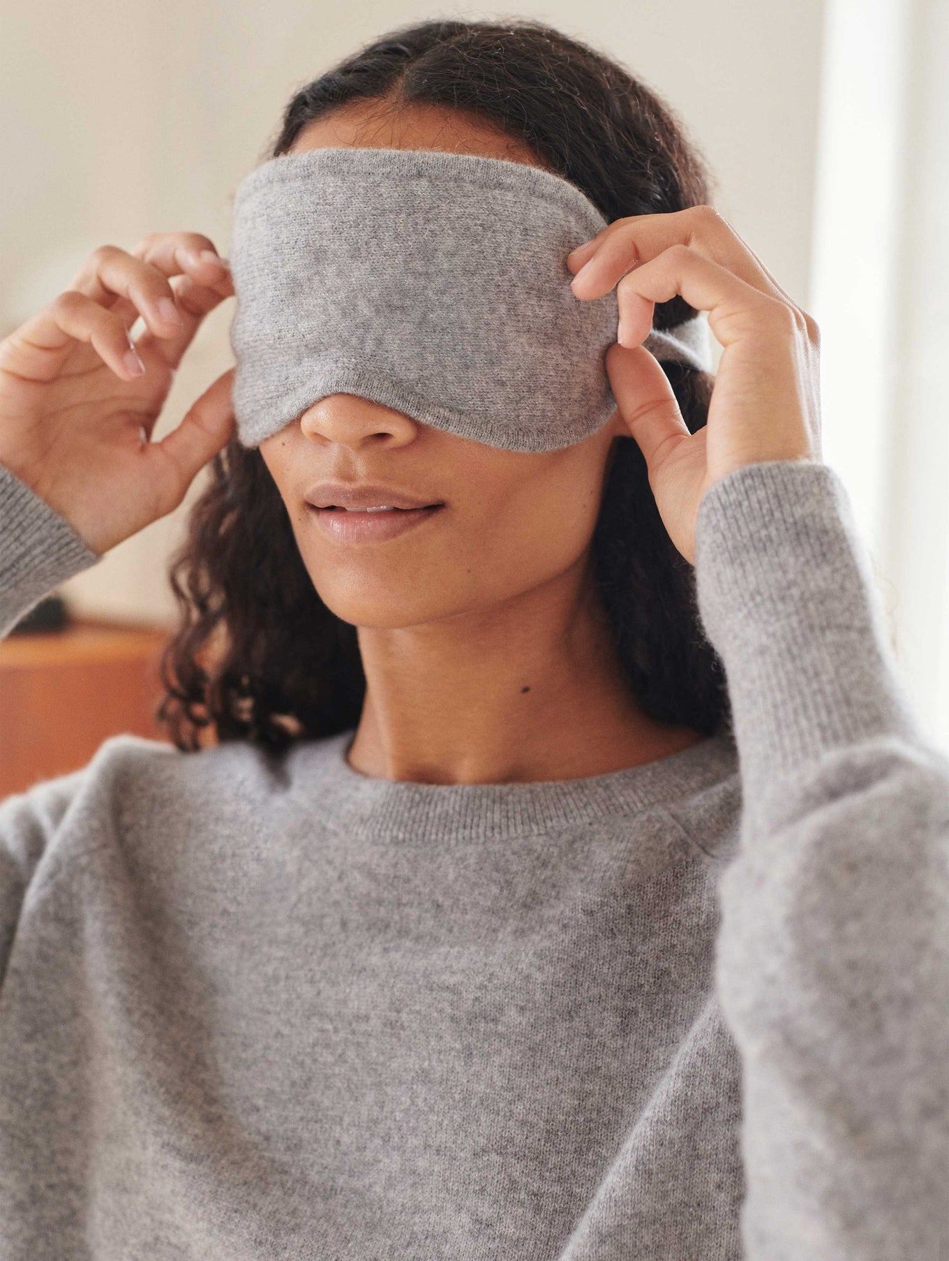 Cashmere Eye Mask