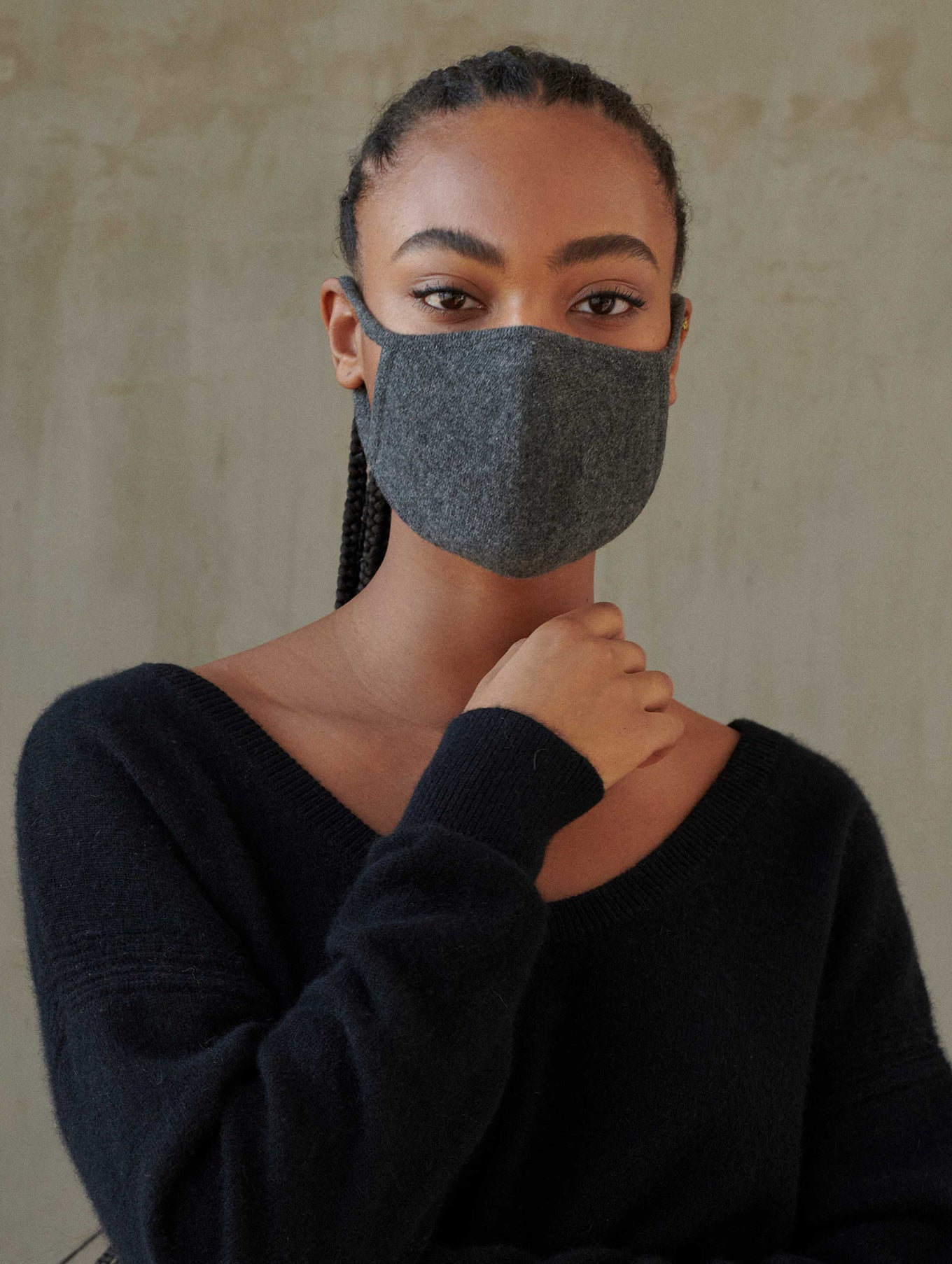 Cashmere Face Mask