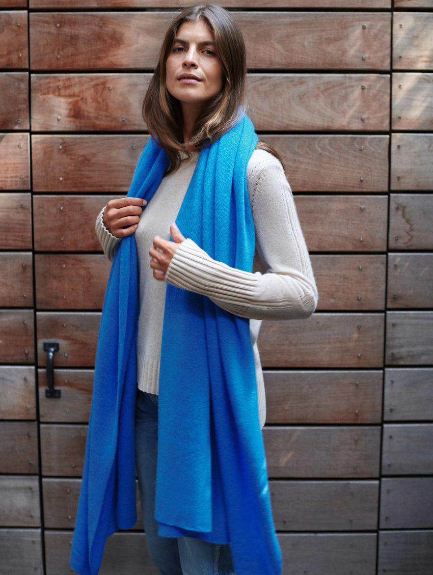 Cashmere Travel Wrap