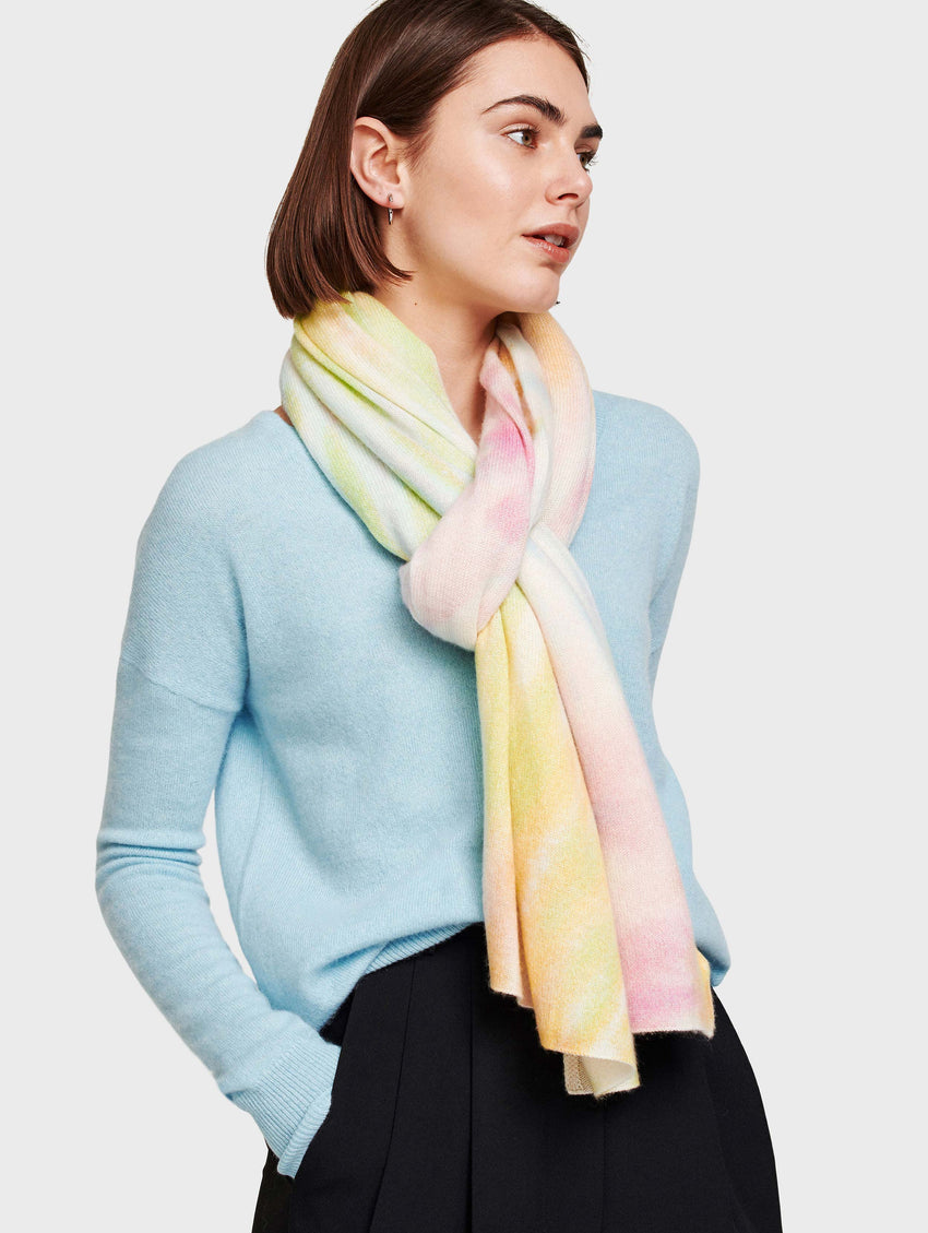 Cashmere Tie Dye Mini Travel Wrap