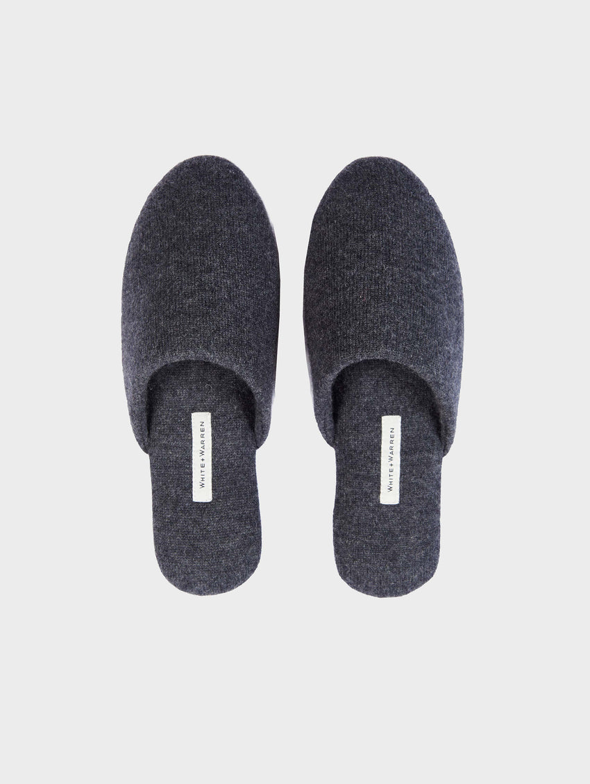 Cashmere Slide Slipper